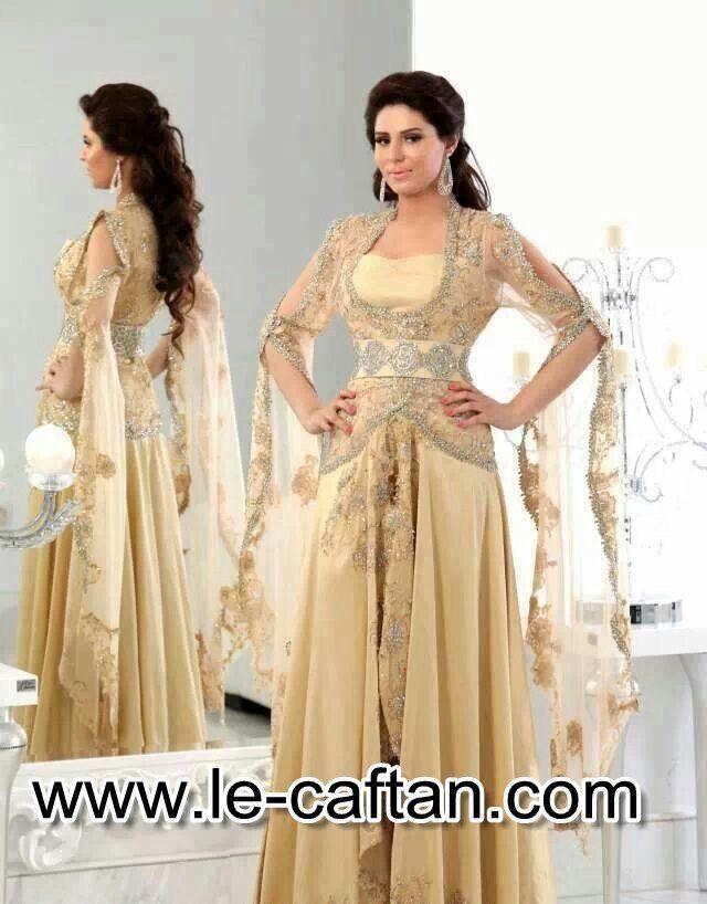 Caftan robe soirée de luxe fcc1815891a