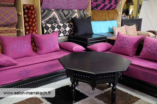 le catalogue de salon marocain moderne. Black Bedroom Furniture Sets. Home Design Ideas